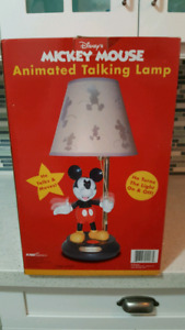 Mickey Mouse Talking Lamp