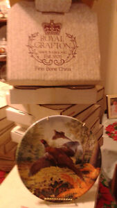 Royal Grafton Collectable  Bird Plates