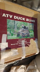 atv duck blind just reduced