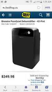 Bionaire PureQuiet Dehumidifier - 42-Pint