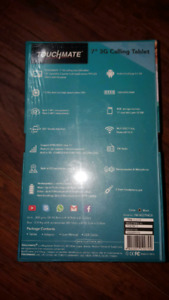 Brand new never opened tablet with dual SIM cards and unlocked