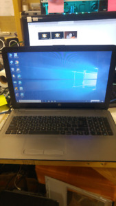 HP laptop 15.6 8gb ram 1b hdd