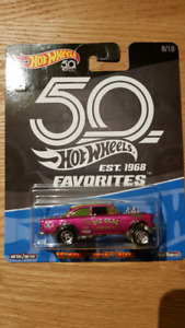 Hot wheels Car Culture 55 Chev Belair gasser