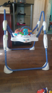 Bumbo seat and jumperoo
