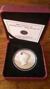 2009 king george silver coin