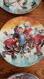 The Face-off collectors plate collection Peterborough Peterborough Area image 3
