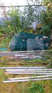 50 feet of frost fence chain link and posts West Island Greater Montréal image 2