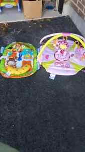 Play Mat with Toys Plus Tummy Time Mat with Toys Kitchener / Waterloo Kitchener Area image 1