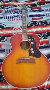 raven ( gibson lawsuit acoustic) SOLD Sarnia Sarnia Area image 2