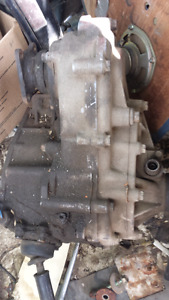 Toyota gear driven transfer case