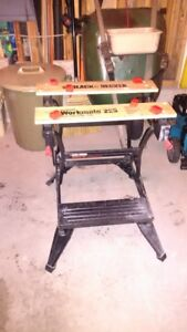 Black and Decker Workmate folding bench