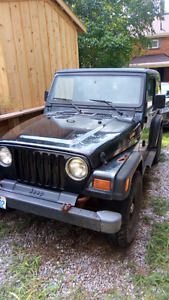Jeep tj for sale or trade