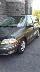 FORD WINDSTAR 2002, 7 PASSAGERS MODÈLE SEL, $1200.00