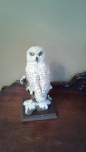 Owl statue for sale.