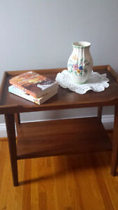 Antique Side Table - All wood - Excellent Condition