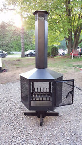 Outdoor Fire Place (Never used)