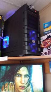 Ordinateur Gamer i7, SSD+ disque dur+ GTX1050 4GB