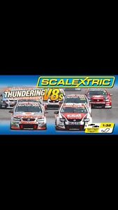 Scalextric track with 3 cars Hindmarsh Island Alexandrina Area Preview