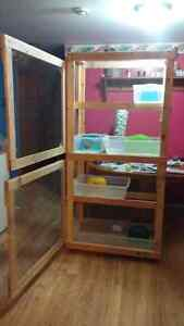 Rat, hamster, gerbil, mouse or guinea pig cage
