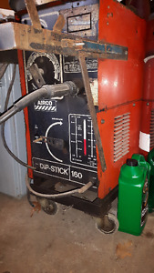 Airco DIP STICK 160 mig and arc welder combo
