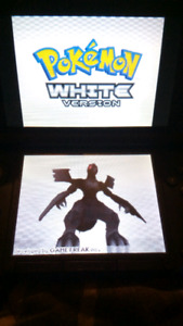 Blue 3DS XL + Pokemon White