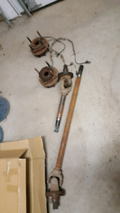 2011 F350 Front Axle Parts