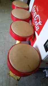 50s diner stools