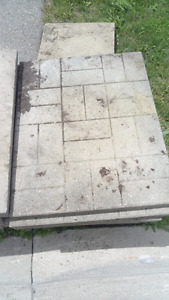 """29""""X23 11/16"""" PATIO STONES BEST OFFER 27 IN TOTAL"""
