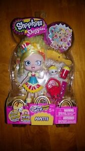 Shopkins Shoppies Popette Doll with Exclusives Season 1
