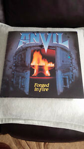 ANVIL FORGED IN FIRE VINYL ! ORIG PRESS MINTY