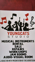 Youngcats rehearsal studio/ Jam space