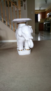 Solid Porcelain Chinese Elephant Statue