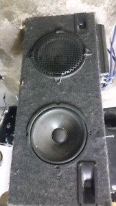 """2 10"""" pioneer subs + 2amps"""