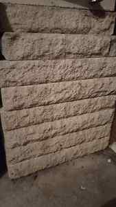 """16 Rough Faced Edging stones 4"""" by 20"""" about 25' London Ontario image 2"""