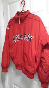 Ladies Red Sox fall  jacket size large