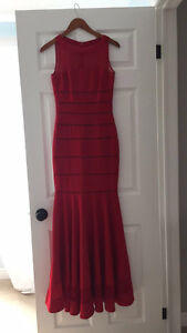 JS COLLECTIONS RED DRESS