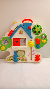 Vintage Fisher Price Musical Activity Center Crib Toy