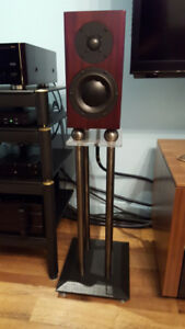 Haut-parleurs Totem Acoustic Model One + supports