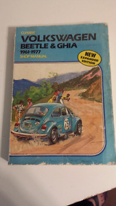 2 Vintage VW  Repair Manuals