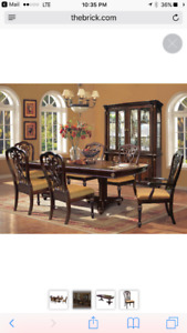 Newcastle 9 piece Dining Room table & chairs set