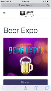 3 Beer Expo Tickets for Saturday