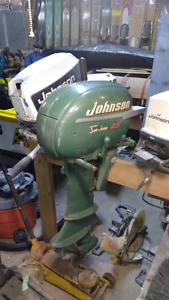 Very clean antique 25 hp outboard short shaft