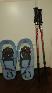 Youth Snow Shoes & Poles