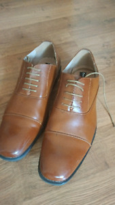 Men's Formal Classic Lace Up Leather Oxford Dress Shoes  size 15