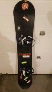 Complete snowboard