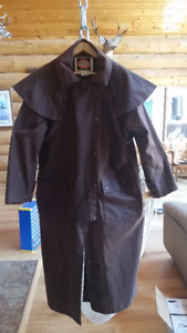 Australian Outback Collection Oilskin Riding Drover Jacket