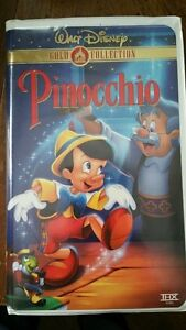Walt Disney VHS Pinicchio 60th edition