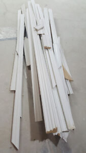 Baseboard Mouldings with Quarter Rounds over 100 feet