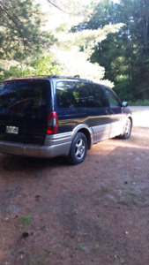 2003 Pontiac Montana 300 .00 or best offer. Mackey Ont