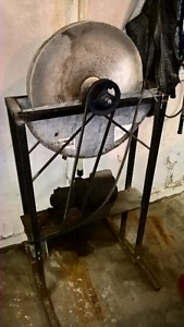 Grinding Stone Wheel and motor